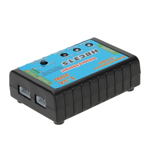 HBC315 20 W Mini Balance Charger do baterii LiSo 2-3S