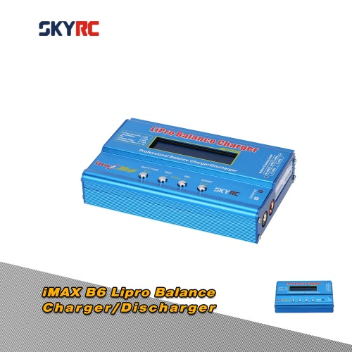 Oryginalny SKYRC iMAX B6 Wielofunkcyjny LIPRO Bilans Ładowarka / Wyładowarka dla LiPo Lilon LiFe NiCd NiMH Akumulator Pb RC
