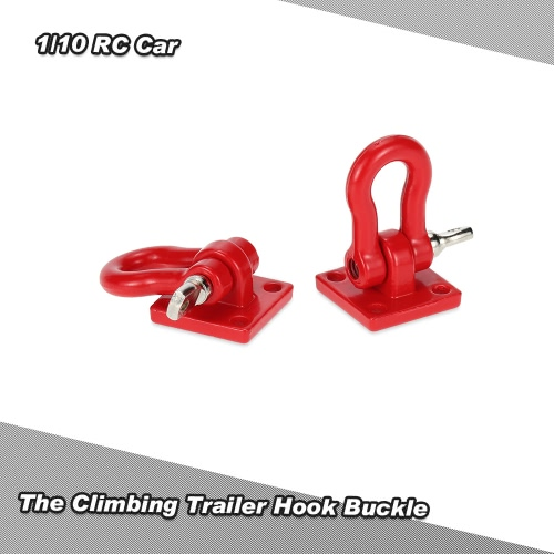 The Climbing Trailer Hook Buckle for 1/10 D90 Axial SCX10 RC Climbing Car