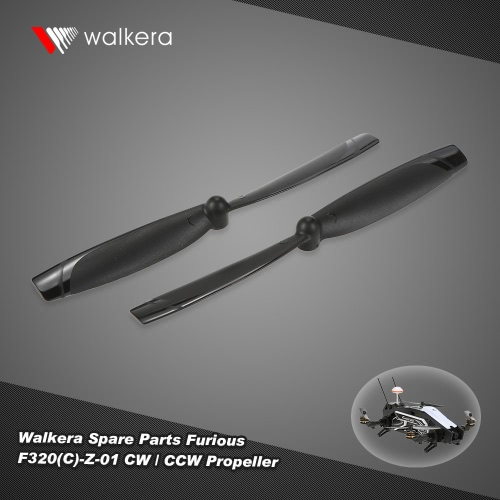 1 Pair Original Walkera F320(C)-Z-01 CW / CCW Propeller RC Parts for Walkera Furious 320 RC Racing Drone