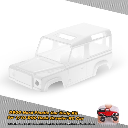D90 Hard Plastic Car Shell Body DIY Kit for 1/10 D90 Rock Crawler RC Car
