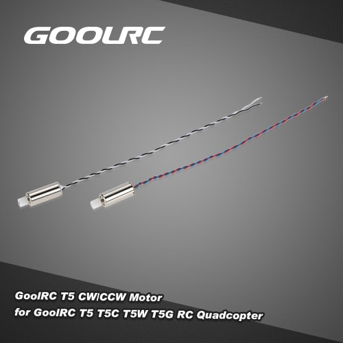 1 Pair  GoolRC T5 CW/CCW Motor for GoolRC T5 T5C T5W T5G RC Quadcopter