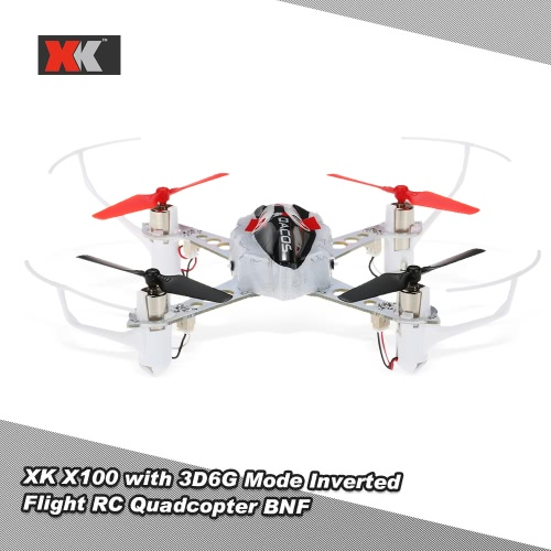 Original XK X100 DEXTERITY  Indoor Drone RC Quadcopter  2.4G 3D 6G Mode Support FUTABA S-FHSS with Inverted Flight BNF