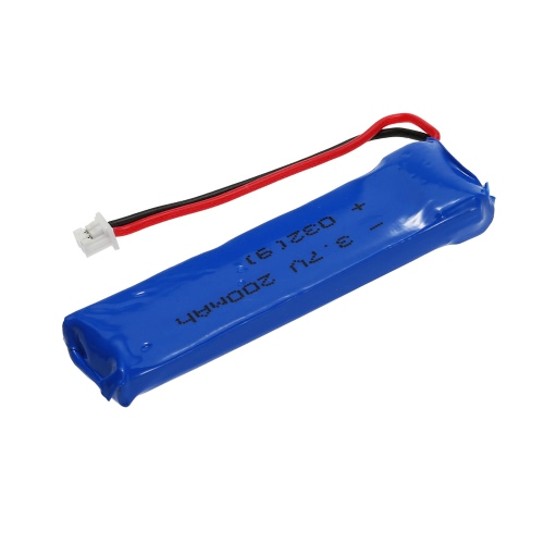Upgrade Lipo Battery 2pcs 3.7V 200mAh 30C  for Blade Inductrix Tiny Whoop BLH8700 BLH8580 RC Drone Quadcopter