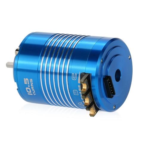 1/10 RC車のトラック用の高性能540 10.5T 3450KVセンサードブラシレスモーター