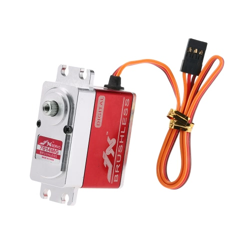 JX BLS-7014MG 14KG Metal Gear Brushless Digital Standard Servo for RC 550-700 Airplane Helicopter