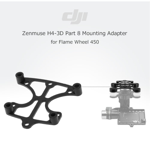 Original DJI Zenmuse H4-3D Part 8 Mounting Adapter for Flame Wheel F450 RC Quadcopter