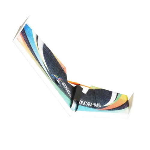 DW HOBBY Rainbow Flying Wing EPP 800mm Wingspan Tail Push KIT FPV RC Samolot z silnikiem ESC Servo
