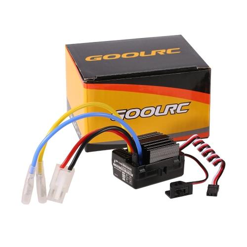 GoolRC 40A Wasserdichter gebürsteter ESC elektrischer Geschwindigkeitsregler mit 6V / 2A BEC für 1/10 RC Felsen-Raupen-Auto-RC Boot