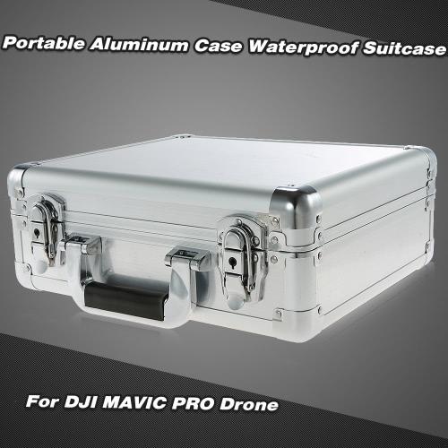 Portable Aluminum Hard Case Waterproof Box Suitcase for DJI MAVIC PRO Drone Quadcopter