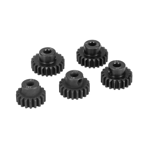 Original GoolRC M1 5mm 18T 19T 20T 21T 22T Shaft Steel Pinion Motor Gear Combot Set for 1/8 Off-road Buggy Monster Truck RC Car Brushed Brushless Motor RM7479