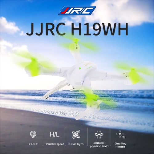 Camera originale JJR / C H19WH 2MP Drone WiFi FPV Altitudine posizione HOLD RC Quadcopter rimovibile Arms RTF Version