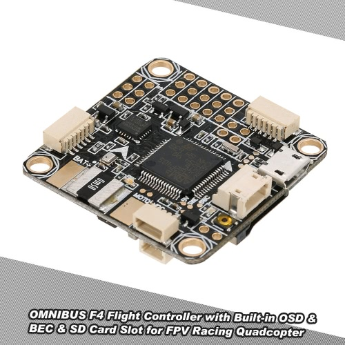 OMNIBUS F4 Flight Controller with Built-in OSD BEC SD Card Slot Betaflight for QAV250 H210 Racer 250 FPV Racing Quadcopter