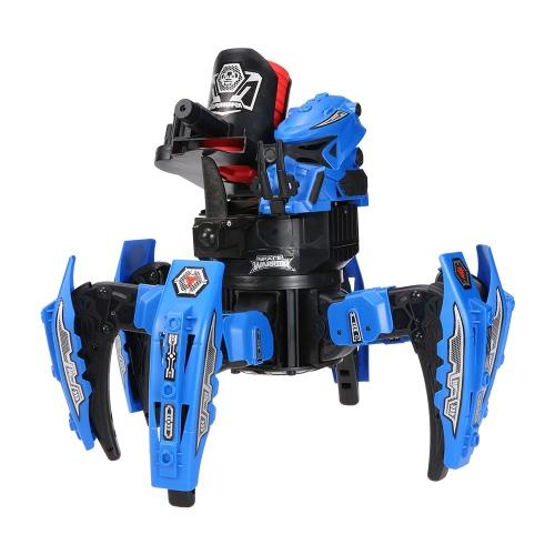 KEYE Toys 9005-1 2.4G Пульт дистанционного управления Space Warrior DIY Assembly Battle Robot RC Toy