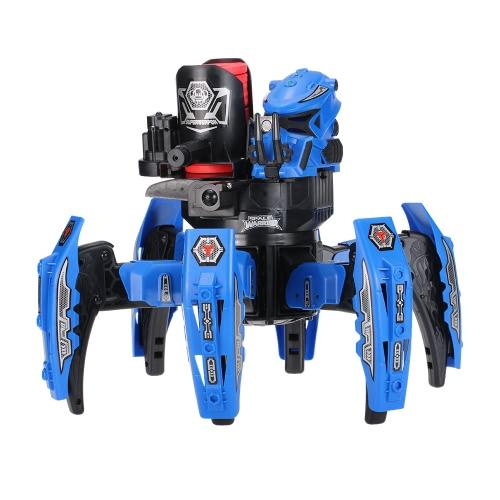 KEYE Spielzeug 9005-1 2.4G Fernbedienung Raum Krieger DIY Montage Schlacht Roboter RC Spielzeug