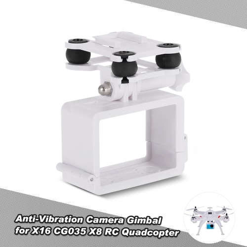 Shock Absorber Anti-Vibration Camera Mount Gimbal PTZ for X16 CG035 Syma X8 RC Quadcopter Drone