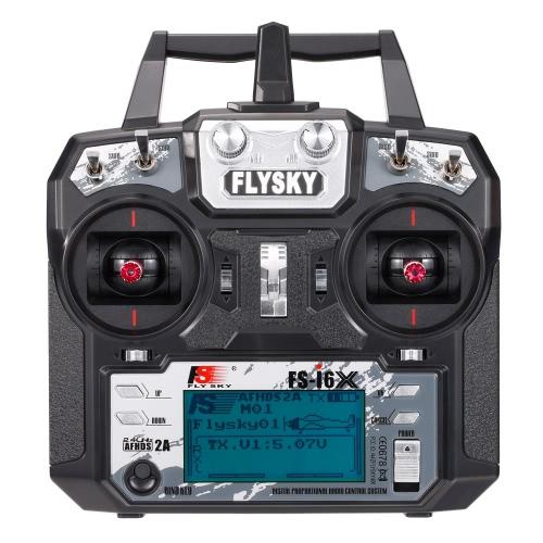 Flysky FS-i6X 2.4GHz 6CH AFHDS 2A RC Transmitter Fernbedienung mit FS-X6B Empfänger für RC Drone Flugzeug Hubschrauber