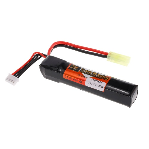 ZOP Power 3S 11.1V 1000mAh 20C LiPo Battery TAMIYA Plug
