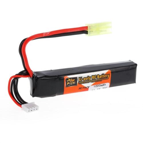 ZOP電源3S 11.1V 1000mAh 20C LiPoバッテリーTAMIYAプラグ