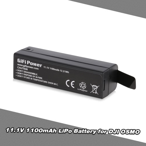 GIFI Power 11.1V 1100mAh Intelligent Battery for DJI Osmo Handheld 4K Gimbal