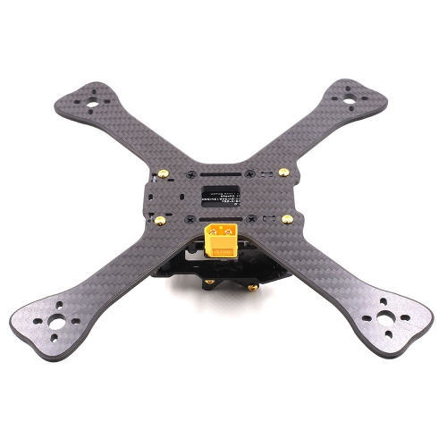 GEPRC GEP-TX5 Chimp 210mm X-Type 5in Carbon Fiber FPV Racing Drone Quadcopter Frame Kit with XT60 Power Distributor LEDs