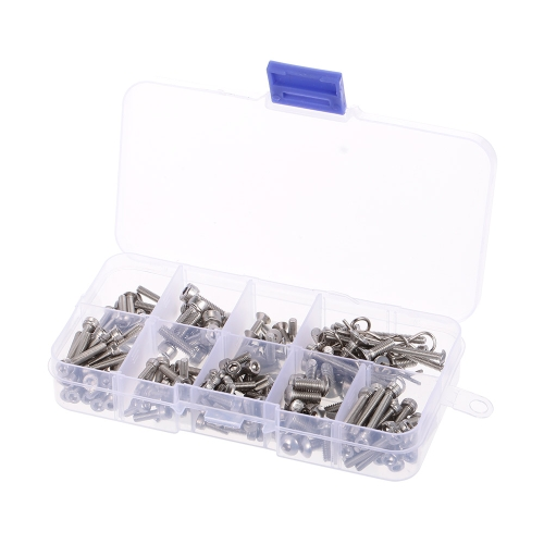 RC Screws Stainless Steel Screw Kit for Traxxas Slash 4x4 Short Truck Off-road Car