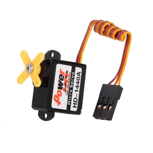 Power HD HD-1440A Micro Servo analogico per aereo Mini RC Airplane EPP