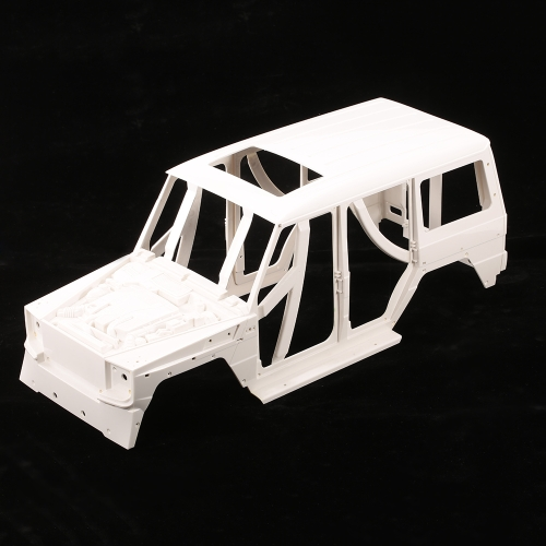 161006A Hard Plastic Car Shell Body DIY Kit for 313mm Wheelbase 1/10 Crusader Defender Benz G650 AXIAL SCX10 Pickup RC Crawler