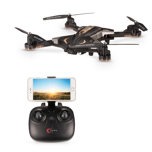 TKKJ L600-1 0.3MP Camera Wifi FPV Foldable Drone Altitude Hold G-sensor Optical Flow Positioning Quadcopter
