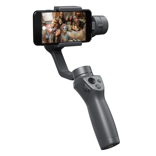 DJI OSMO MOBILE 2-Aks Pòtatif Brushless Gimbal Stabilizer pou Smart Telefòn iPhone Samsung