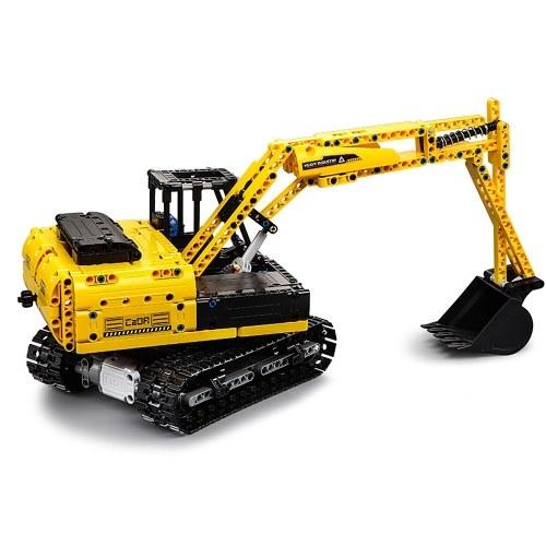 DUPLO E C51057 2.4 GHz 1:20 4WD 544 pcs Blocos de Construção Rastreador Escavador