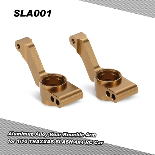 SLA001 Aluminum Alloy Rear Knuckle Arm for 1/10 TRAXXAS SLASH 4x4 RC Car
