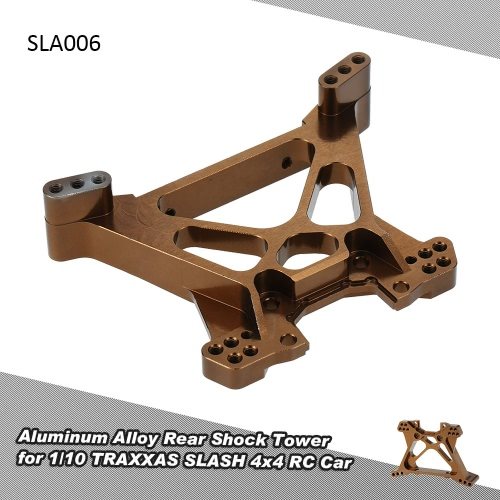 SLA006 stopu aluminium Rear Shock Tower w 1/10 TRAXXAS SLASH 4x4 RC Car