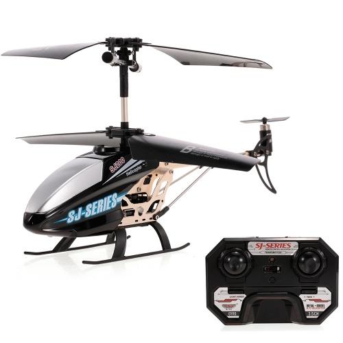 SJ R / C SJ200 3.5CH Sterowanie na podczerwień ze stopu metali RC Helikopter z żyroskopem dla dzieci Zabawki dla dzieci Prezent