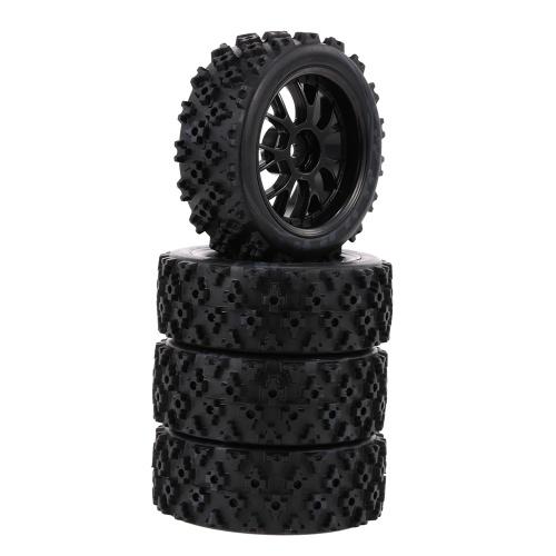4 SZTUK 1/10 RC On-road Tire Star Tread Pattern