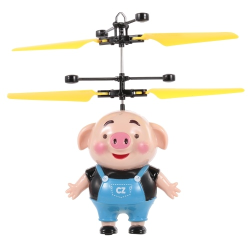 Mini Flying Piggy Drone de inducción infrarrojo