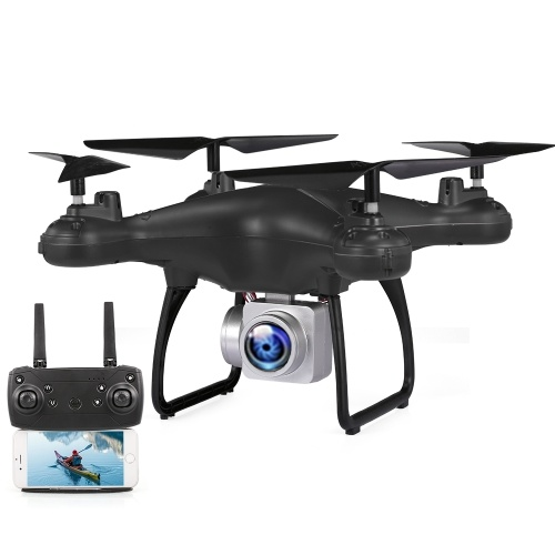 Drone GLOBAL DRONE GW26 1080P HD Telecamera Wifi FPV Voiced Control Altitude Hold RC Training Quadcopter Drone