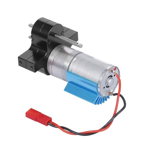 Replacement For 1/12 MN-D90 FJ-45 Gearbox Metal Gearbox 370 Brushed Motor Speed Change RC Car Parts
