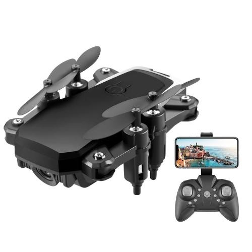 Drone RC FPV LF606 2.4G WiFi con telecamera 4K Altitude Hold Quadricottero senza testa con borsa portatile