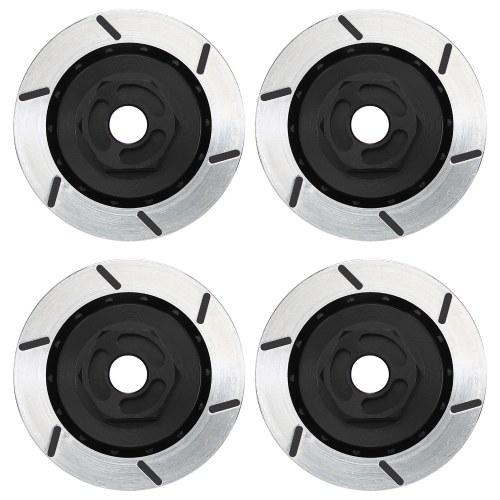 4 шт. Имитация алюминиевого сплава тормозная пластина тормозные диски 12 мм шестигранник колеса совместим с Traxxas HSP 94123 94122 D4 CS 1/10 RC автомобиль