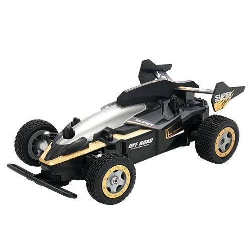 RC voiture de course 2.4 Ghz haute vitesse 1/20 pleine échelle 15 km / h télécommande voiture tout-terrain rapide extérieur véhicule jouet cadeau pour enfants garçon