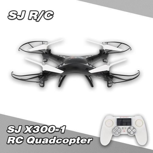 Original SJ X300-1 2.4G 4CH 6-Axis Gyro RC Quadcopter with 3D Flip Auto-Return Function