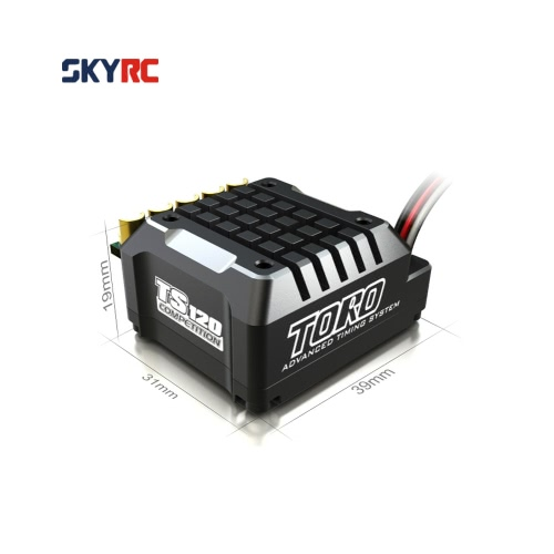 SkyRC TS120 120A 2-3S LiPo batteria Brushless Sensored/Sensorless ESC con BEC 6V/3A per 1/10 1/12 On-road off-Road Car 1/10 1/8 auto crawler