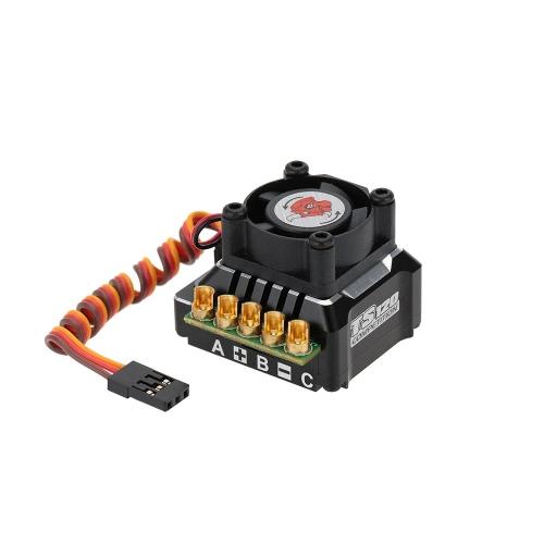 SkyRC TS120 120A 2-3S LiPo batteria Brushless Sensored/Sensorless ESC con BEC 6V/3A per 1/10 1/12 On-road off-Road Car 1/10 1/8 auto crawler