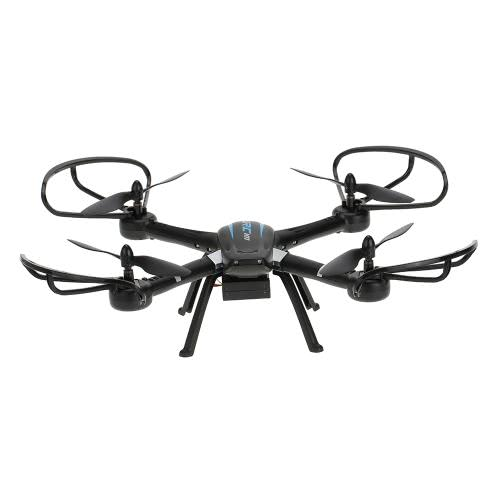 Original JJRC H11C 2.4G 4CH 6 axes Gyro CF mode One Key Return RC Quadcopter avec Caméra HD 2.0MP