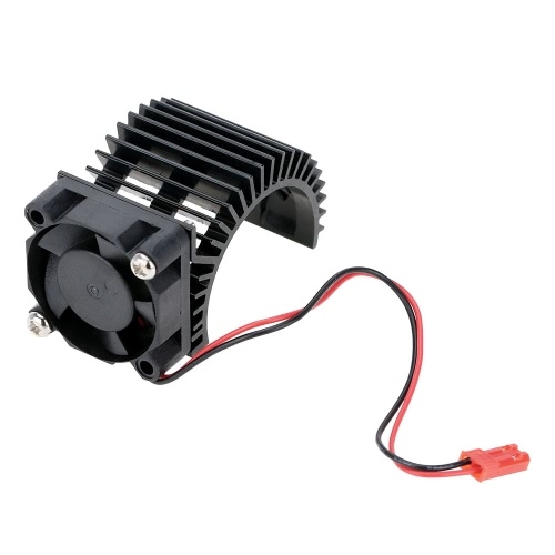 7014 Motor Heat Sink With Cooling Fan for 1/10 HSP RC Car 540/550 3650 Motor