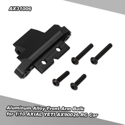 1/10 AXIAL YETI AX90026用アルミ合金フロントアームバルク