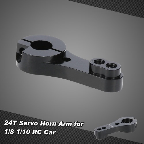 Aluminum 24T Servo Horn Arm for 1/8 1/10 RC Car
