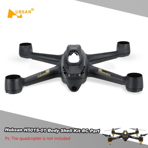 Original Hubsan H501S-01 Body Shell Kit RC Part for Hubsan H501S RC Quadcopter