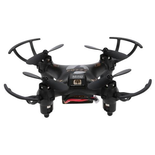 Original FQ777 951C 2.4GHz 4CH 6-Axis Gyro 0.3MP Câmera Mini RC Quadcopter RTF com Modo Headless 3D-flip